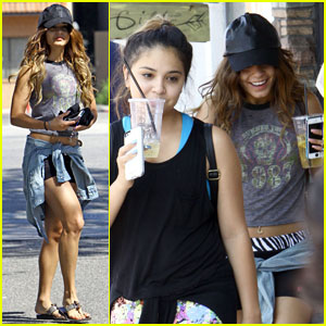 Vanessa & Stella Hudgens: Post-Yoga Refreshments