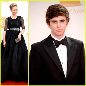 Vera Farmiga & Freddie Highmore - Emmy Awards 2013