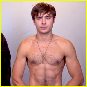 Zac Efron Goes Shirtless in 'Neighbors' TV Spot - Watch Now!