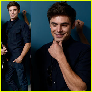 Zac Efron: 'Parkland' Portrait Session at TIFF!