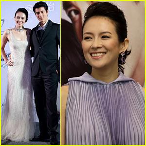 Ziyi Zhang: 'My Lucky Star' Singapore Premiere & Press Conference!