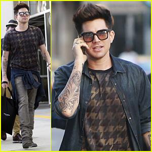 Adam Lambert: Beverly Hills Shopper with Markus Molinari!