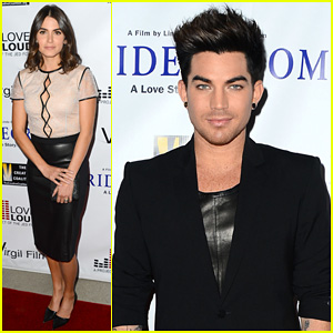 Adam Lambert & Nikki Reed: 'Bridegroom' Premiere!