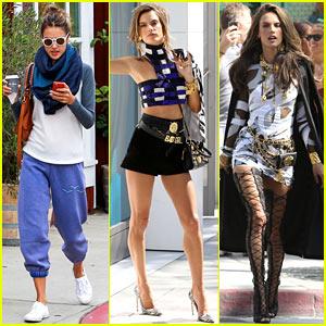 Alessandra Ambrosio Goes Glam for Chanel Photo Shoot!