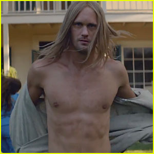 Alexander Skarsgard: Shirtless for Cut Copy's 'Free Your Mind'!