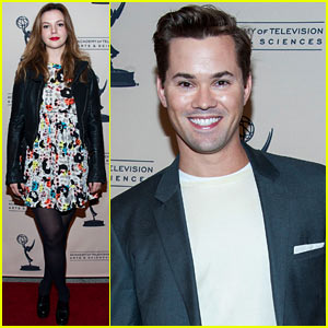 Amber Tamblyn & Andrew Rannells Attend '10 Years After' Event