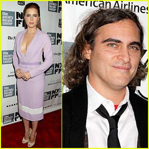 Amy Adams & Joaquin Phoenix: 'Her' Premiere Closes NYFF!