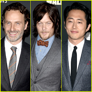 Andrew Lincoln & Norman Reedus: 'Walking Dead' Premiere!