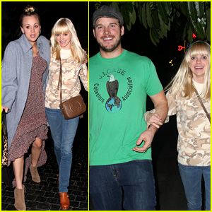 Anna Faris & Chris Pratt: Double Date with Kaley Cuoco!