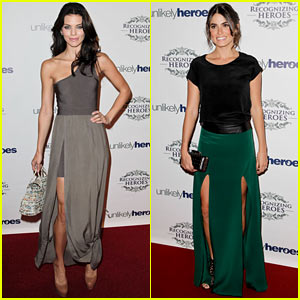 Nikki Reed & AnnaLynne McCord: Unlikely Heroes Awards Gala!