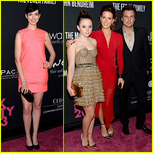 Anne Hathaway & Kate Beckinsale: Pink Party People!