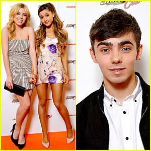 Ariana Grande & Nathan Sykes: 'Sam & Cat' Premiere!