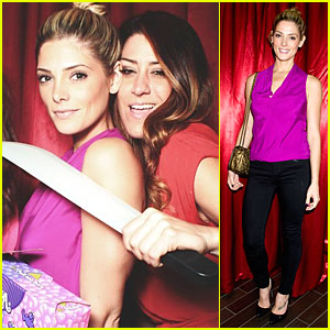 Ashley Greene - Just Jared Halloween Party 2013