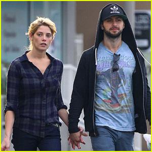 Ashley Greene & Paul Khoury Hold Hands for CVS Errand Run