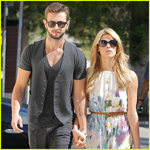 Ashley Greene & Paul Khoury Hold Hands After Lunch Outing