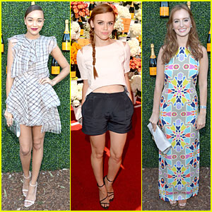Ashley Madekwe & Holland Roden: Veuve Clicquot Polo Classic 2013