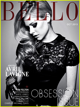 Avril Lavigne Covers 'Bello' Magazine October 2013