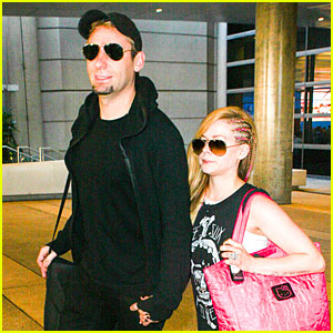Avril Lavigne: I Found A Husband Working on My Album!