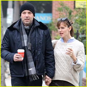 Ben Affleck & Jennifer Garner Hold Hands for Coffee Run