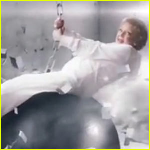 Betty White Spoofs Miley Cyrus' 'Wrecking Ball' Video - Watch Now!
