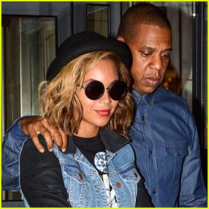 Beyonce & Jay Z: Dinner Date in Paris!