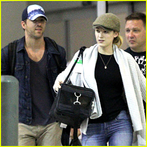 Blake Lively & Ryan Reynolds Touch Down in New Orleans