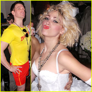 Bonnie McKee & JC Chasez: Matthew Morrison's Halloween Party!