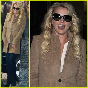 Britney Spears Steps Out After Album Title Reveal!