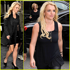 Britney Spears Makes Capital FM Radio Appearance in London