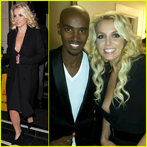 Britney Spears Tapes 'Chatty Man' Appearance in London