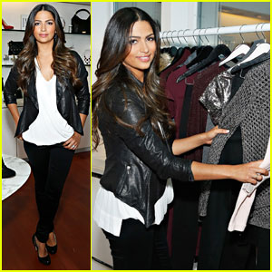 Camila Alves: INC Holiday Preview 2013