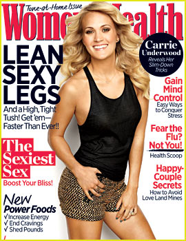 Carrie Underwood Covers 'Women's Health' November 2013