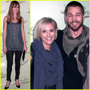 Chad Michael Murray & Nicky Whelan: Lucky Brand Store Opening