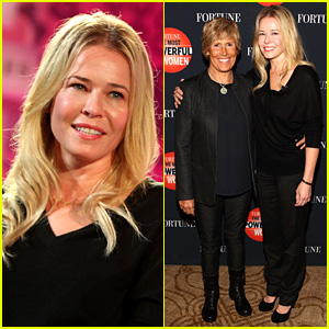 Chelsea Handler Interviews Diana Nyad at 'Fortune' Summit