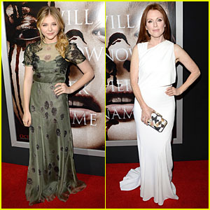 Chloe Moretz & Julianne Moore: 'Carrie' Hollywood Premie
