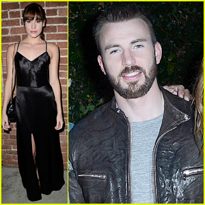 Chris Evans & Christa B. Allen: Skivvies Fashion Launch!