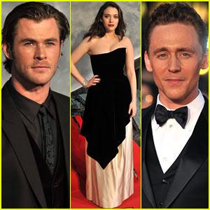 Chris Hemsworth & Tom Hiddleston: 'Thor: The Dark World' Premiere