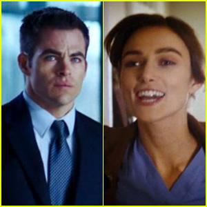Chris Pine & Keira Knightley: 'Jack Ryan: Shadow Recruit' Trailer!