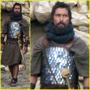 Christian Bale: 'Exodus' Desert Filming in Spain