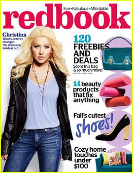 Christina Aguilera Covers 'Redbook' November 2013