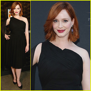 Christina Hendricks: Johnnie Walker Platinum Launch!