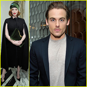 Christina Hendricks & Kevin Zegers: Uno de 50 Dinner Party!