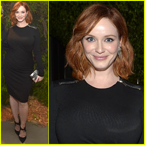 Christina Hendricks Toasts Johnnie Walker Platinum Label!