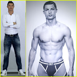 Cristiano Ronaldo Launches CR7 Underwear Line, Goes Shirtless for Ad!