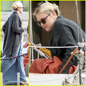 Dakota Fanning: 'Franny' Shooting with Richard Gere