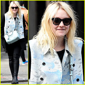 Dakota Fanning Shared a Meal with Richard Gere!