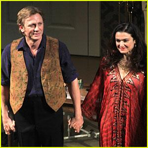 Daniel Craig & Rachel Weisz: 'Betrayal' First Preview Performance