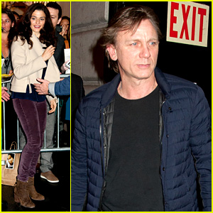 Daniel Craig & Rachel Weisz: Broadway Stage Door Couple!