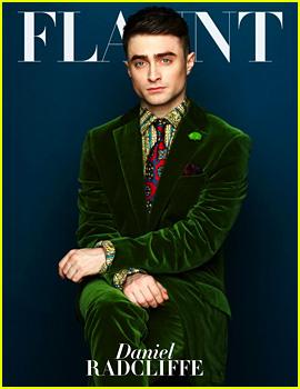 Daniel Radcliffe Covers 'Flaunt' Magazine November 2013