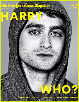 Daniel Radcliffe Talks Moving Past 'Harry Potter' in 'NY Times'